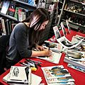 Fiona staples signing another dimension comics calgary alberta 2012.jpg