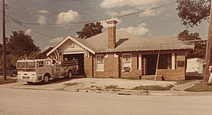 East End, Houston - Fire Station 18, 1976