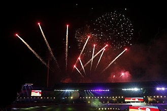 2017 Asian Athletics Championships - Fireworks on the Opening Day