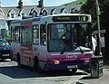 First Devon and Cornwall bus, Woolacombe, 7 August 2004.jpg