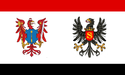 Flag of Brandenburgas-Prūsija