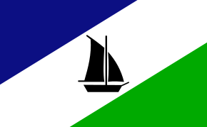 Flag of Puerto Montt, Chile.svg