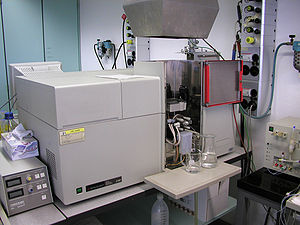 Atomic absorption spectroscopy - Flame atomic absorption spectroscopy instrument