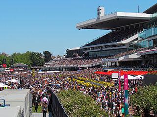 Flemington Racecourse horse racing venue in Flemington, Melbourne, Victoria, Australia