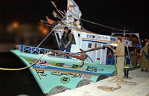Abu Hasan (boat) - Image: Flickr Israel Defense Forces Abu Hasan Weapons Smuggling Boat