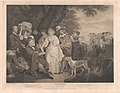 Florizel, Perdita, etc. in the Shepherd's Cot (Shakespeare, Winter's Tale, Act 4, Scene 3) MET DP859561.jpg
