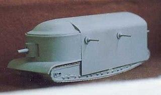 Flying Elephant Super-heavy tank