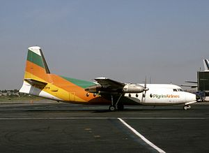 Business Express Airlines - Pilgrim Airlines Fokker F27-100 Friendship