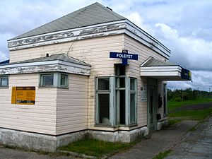 Foleyet railway station - Image: Foleyet station 3671286550