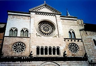 Foligno - The Duomo (Cathedral) of San Feliciano in Foligno.