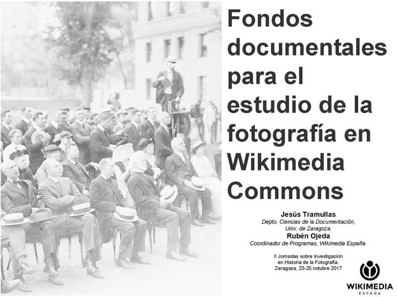File:Fondos documentales para el estudio de la historia de la fotografía en Wikimedia Commons.pdf