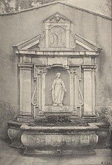 Fontaine de la nymphée Revue d'histoire de Lyon 1906.jpg