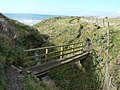 Footbridge on Dorset Coast Path - geograph.org.uk - 346498.jpg