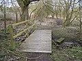 Footbridge over Nettlestead Place garden stream - geograph.org.uk - 1200440.jpg