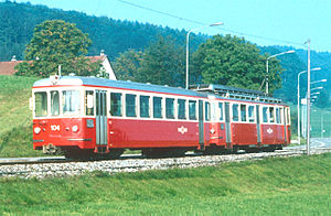 Forch railway - Image: Forchbahn Bt 104