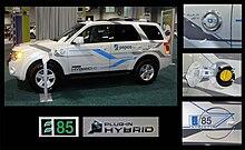 Demonstration Ford Escape E85 Flex Fuel Plug In Hybrid