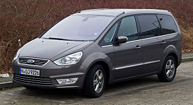 Ford Galaxy (II, Facelift) – Frontansicht, 3. März 2013, Ratingen.jpg