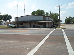 Post office in Ford, Kansas