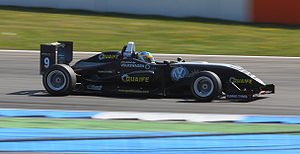 Adrian Quaife-Hobbs - Quaife-Hobbs competing at the second round of the 2010 Formula 3 Euro Series at Hockenheim.