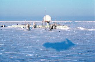 Distant Early Warning Line - POW-2, now Oliktok Long Range Radar Site