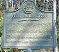 Fort Barrington historical marker, McIntosh-Long County, GA, US.jpg