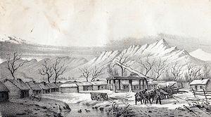 Provo, Utah - Ft. Utah in 1850