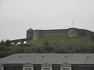 Soule - The fort of Mauléon.