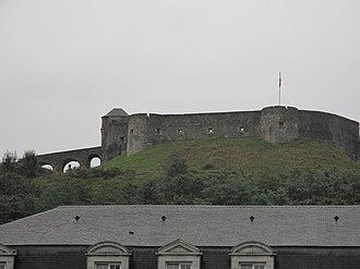 Soule - The fort of Mauléon.