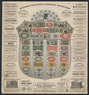 Fractional currency shield