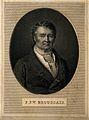François Joseph Victor Broussais. Line engraving by H. Bonvo Wellcome V0000797.jpg