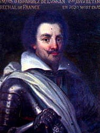 Aubeterre-sur-Dronne - François d'Esparbès de Lussan d'Aubeterre