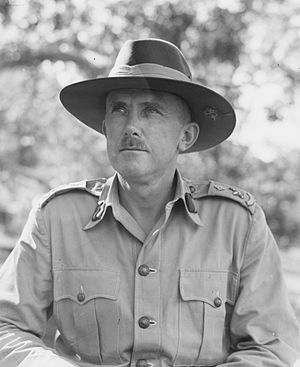 Frank Berryman - Major General Frank Berryman in 1944