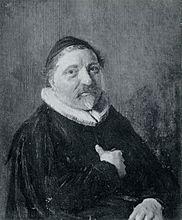 Portrait of Adrianus Tegularius