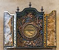 Frari (Venice) - Sacristy Seventeenth Century Clock by Stefano Panata.jpg