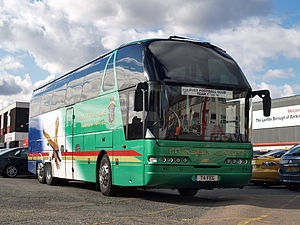 Fraser Eagle - Neoplan in October 2008