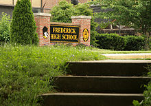 Frederick High School Sign.jpg