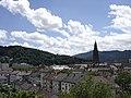 Freiburg - Blick vom Fahnenbergplatz auf Münster 1.jpg