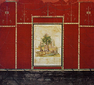 Boscotrecase - Fresco from the Imperial Villa