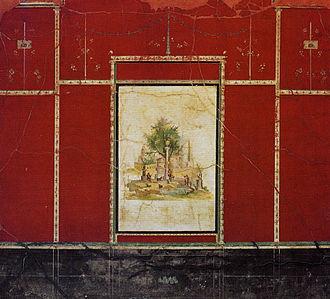 Boscotrecase - Fresco from the Imperial Villa