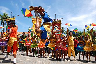 Recife - Frevo was included on the UNESCO's list of intangible heritage.