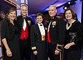 From the left, Jennifer Ary; Marine Corps Maj. Gen. Vaughn A. Ary; the Chaplain of the Marine Corps, Rear Adm. Margaret G. Kibben; the Assistant Commandant of the Marine Corps, Gen. John M. Paxton, Jr 131025-M-KS211-006.jpg