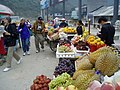 Fruit market at Zhangjiajie, Hunan - panoramio.jpg