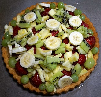 Tart - Mixed fruit tart