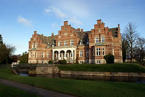 Lolland - Fuglsang Manor, now a major cultural centre on the island