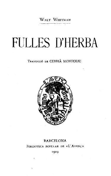 File:Fulles d'herba (1909).djvu