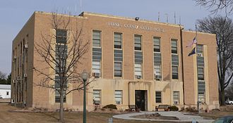 Furnas County, Nebraska - Image: Furnas County Courthouse from SW 2