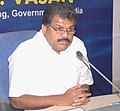 """G.K. Vasan addressing at the signing ceremony of the Concession Agreement for """"Development of Deep Draught Iron Ore Berth"""" at Paradip Port between Paradip Port Trust (The Concessioning Authority) and Ms. Nobel Group Limited.jpg"""
