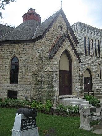 Grand Army of the Republic Hall (Aurora, Illinois) - Image: GAR Hall