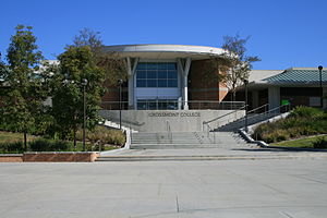 Grossmont College - Quad and South Entrance of the Tech Center