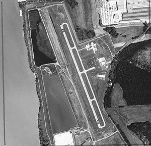 General DeWitt Spain Airport - Satellite photo of M01